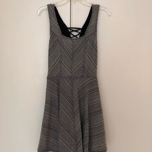 Free people striped skater dress